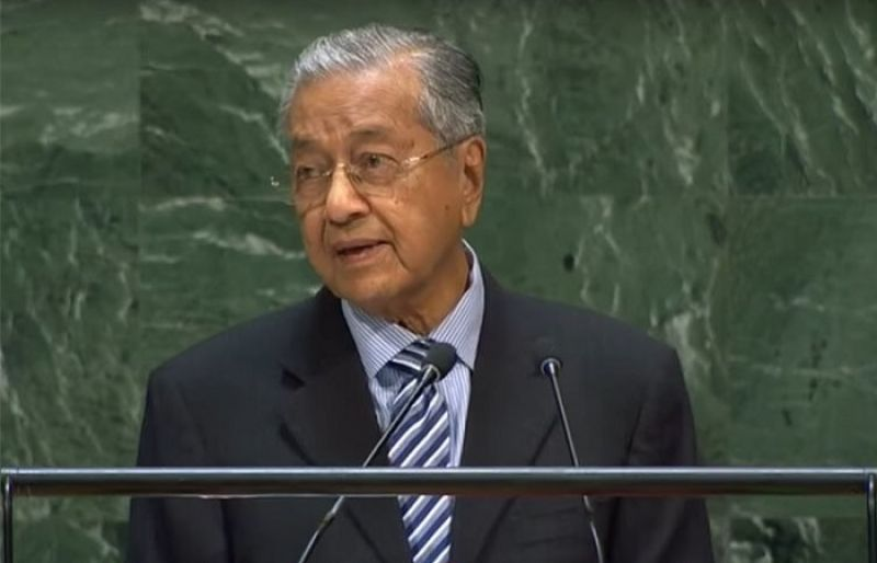 Image result for malaysian-prime-minister-mahathir-mohamad-kashmir-comment