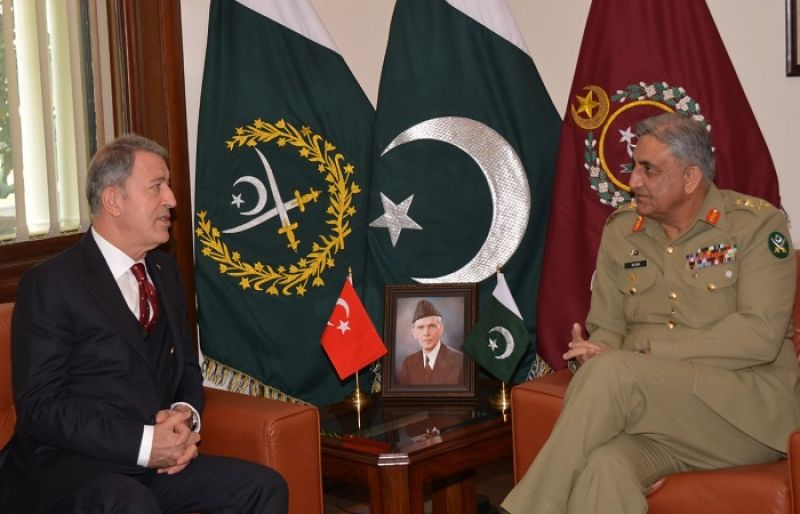 Turkish Defence Minister, COAS discuss bilateral defence
