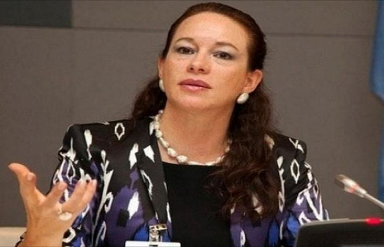 President of the United Nations General Assembly Maria Fernanda Espinosa