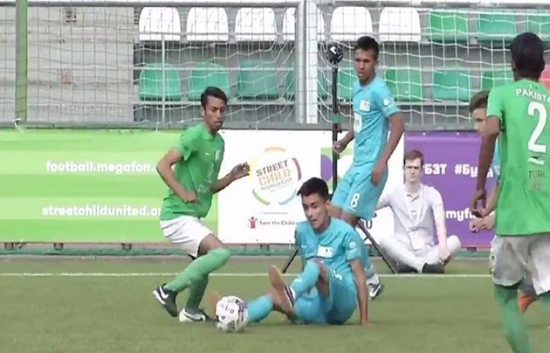 Street Child Football World Cup, Uzbekistan beat Pakistan in final
