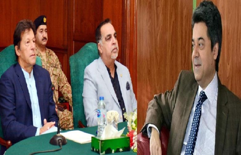 Governor Sindh Imran Ismail and Federal Minister for Law and Justice Farogh Naseem met with Prime Minister Imran Khan