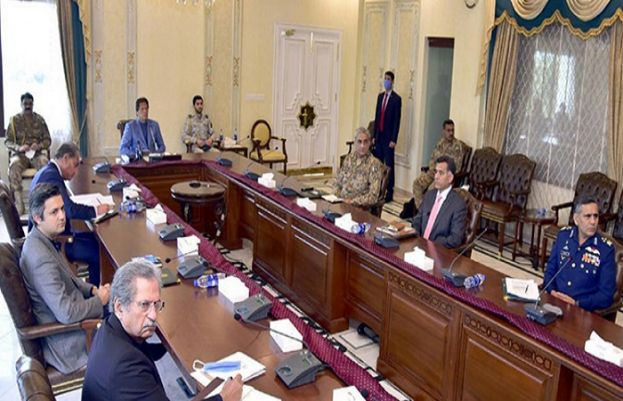 Prime Minister Imran Khan chairing meeting of NCC