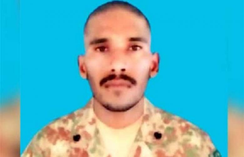 Sepoy Zaheer Ahmed martyred in unprovoked Indian firing along LOC