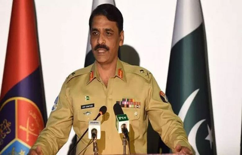 Fake threat alerts being spread to create confusion among people: ISPR