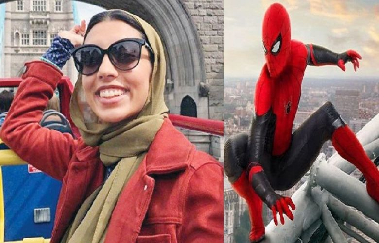 hijab-wearing character in Spider-Man