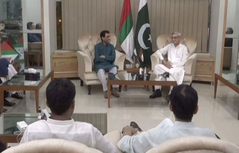 Jahangir Tareen met with the leadership of Muttahida Qaumi Movement-Pakistan