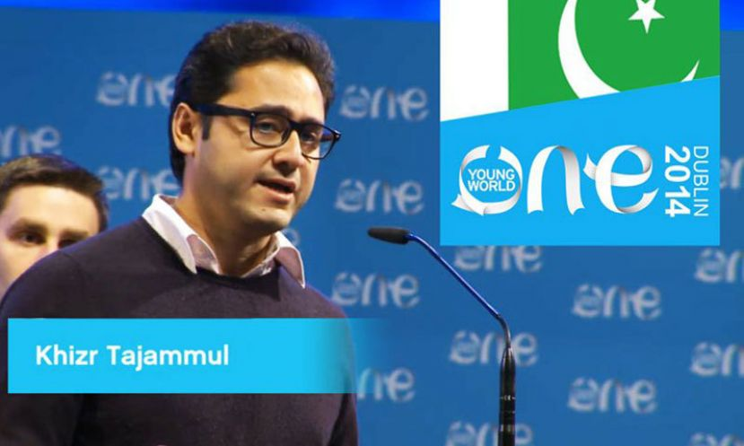 Pakistani youth wins first prize at One Young World Summit