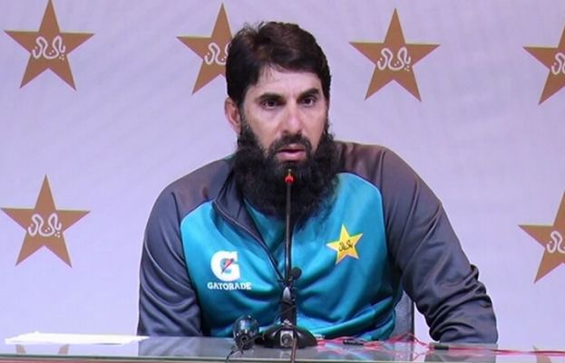 Pakistan men's team head coach Misbah-ul-Haq