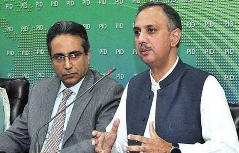 Minister for Energy Omar Ayub Khan and