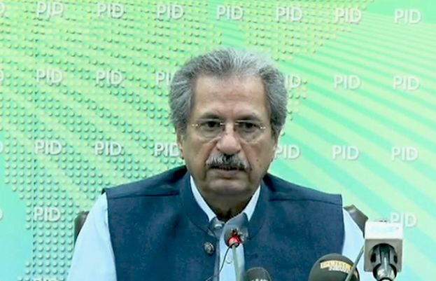 Federal Minister for Education Shafqat Mehmood