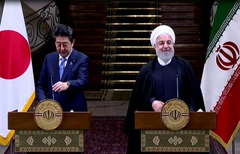 Japanese PM urges Iran to play constructive role in ensuring peace in Middle East