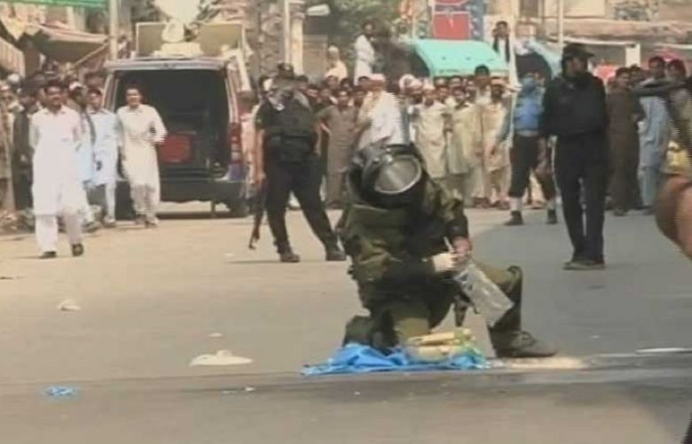 Bomb Disposal Unit defused a 3kg bomb in Peshawar - SUCH TV
