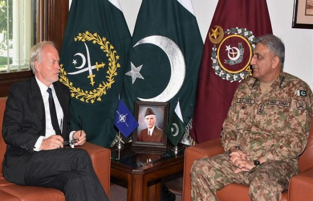 COAS, NATO Representative in Afghan discuss Matters relating peace, stability