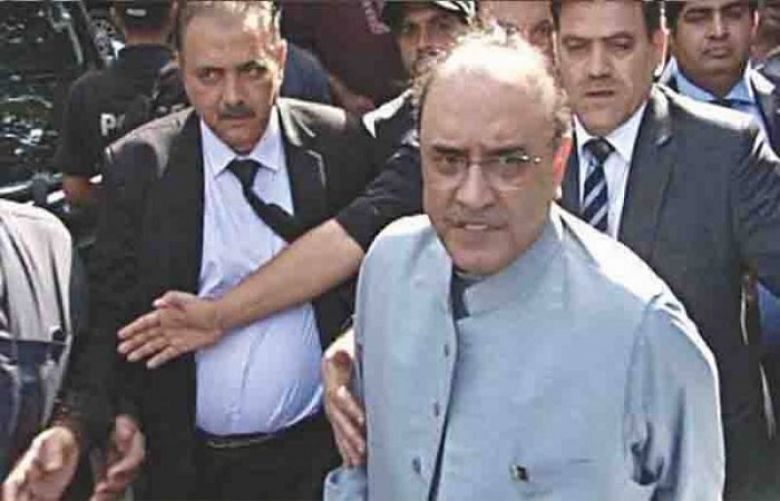 IHC grants Zardari, bail till May 22 in Fake accounts case