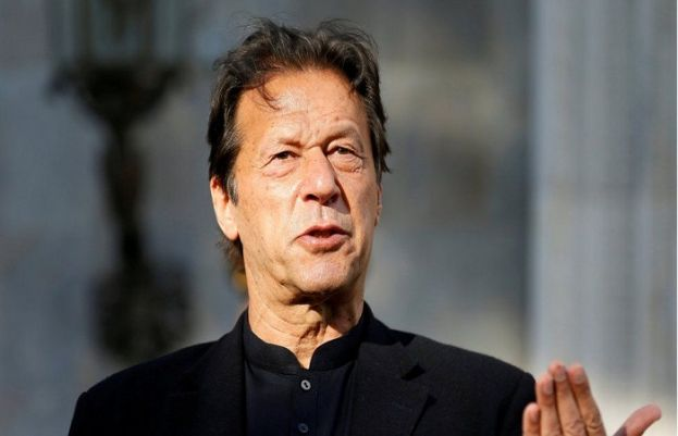 PM IMRAN KHAN DISAPPOINTED OVER PAKISTAN BEING BLAMED FOR AFGHAN UNREST