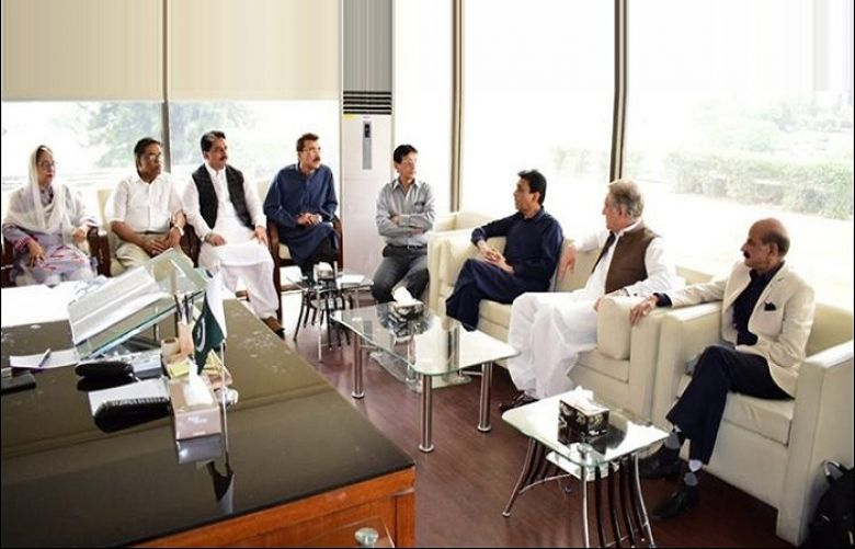 FM Qureshi, MQM-P delegation exchange views on mutual coordination