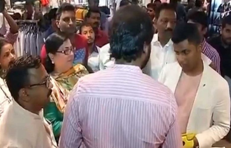 Mumbai: MNS workers protest at Zara clothing store for selling Pakistani clothing