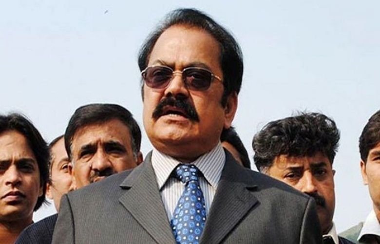 NAB is biased towards PML-N:  Rana Sanaullah