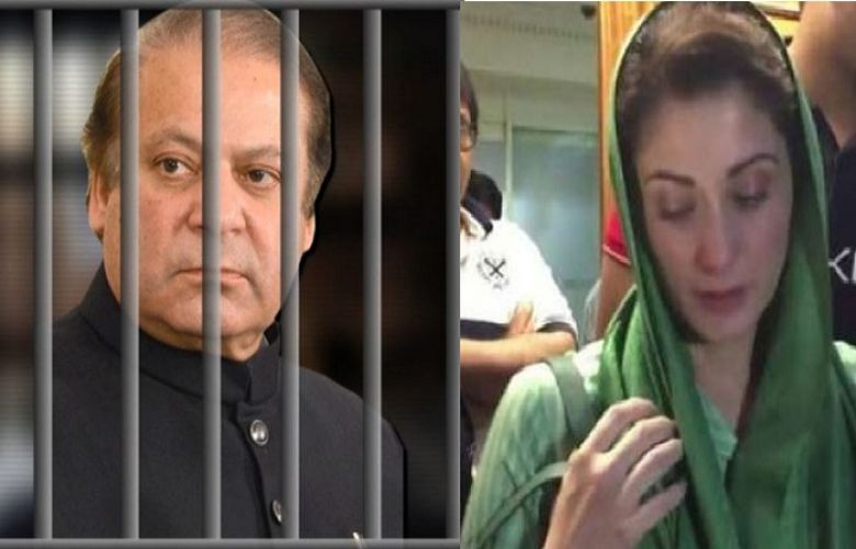 Maryam Nawaz reached Kot Lakhpat jail  to meet his incarcerated father Nawaz Sharif