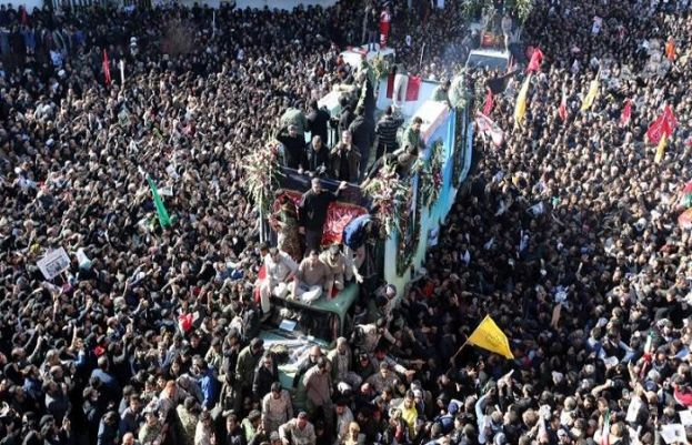 Death toll in Soleimani's funeral rises to more than 50