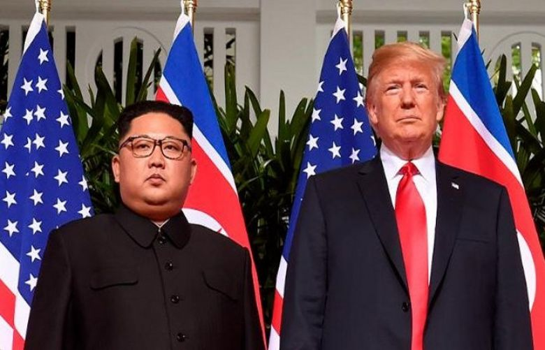 US President Donald Trump and Kim Jong-un
