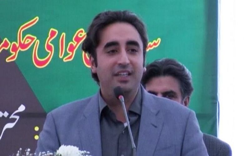 Pakistan Peoples Party (PPP) Chairperson Bilawal Bhutto