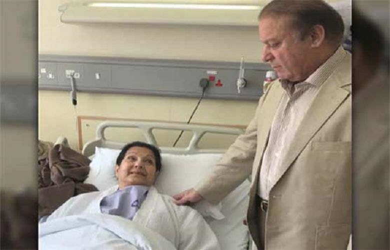 Kulsoom Nawaz opens her eyes after month-long coma