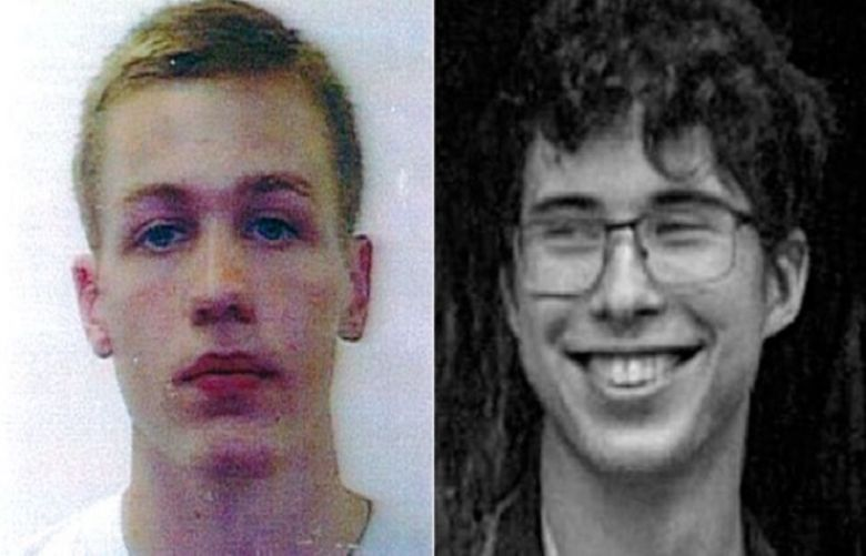 Hugo Palmer (left) and Erwan Ferrieux are missing, Australian police say