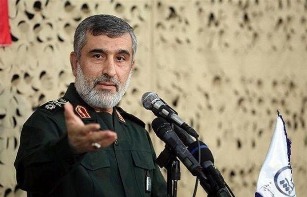 Commander IRGC Brigadier General Amir-Ali Hajizadeh
