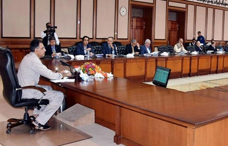 The Economic Coordination Committee chaired by Finance Minister Asad Umar
