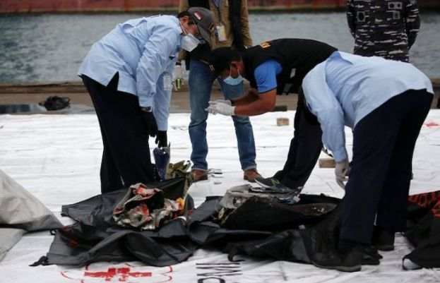 Sriwijaya Air crash: Indonesia recovers body parts, black box