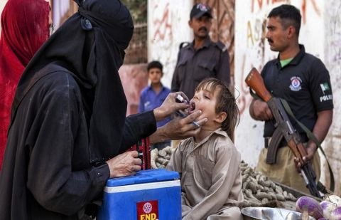 Anti-polio campaign commenced in three provinces