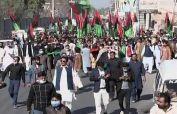 Hundreds of PDM workers take over venue for Nov 30 Multan