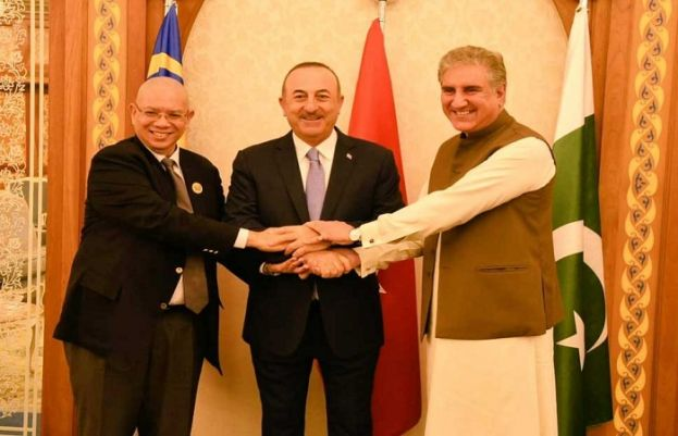 Turkey, Malaysia FM's appreciate viewpoint of Pakistan in OIC