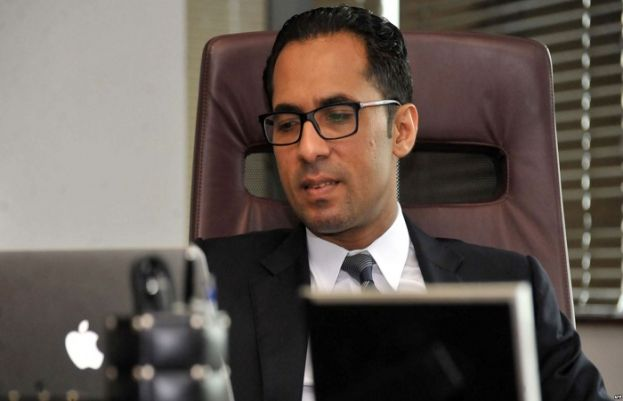 Tanzanian businessman Mohammed Dewji at his office in Dar es Salaam, April 23, 2015. Africa's youngest billionaire was kidnapped Oct. 11, 2018, by gunmen in Tanzania and returned home safely Saturday.