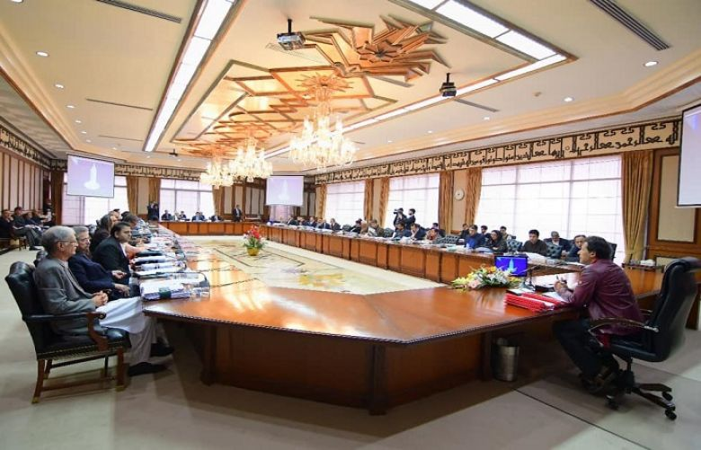 Federal Cabinet meeting chaired by Prime Minister Imran Khan