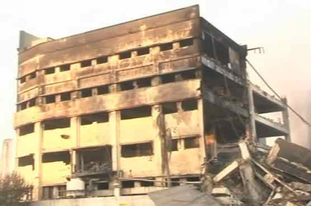 Karachi: Factory fire finally extinguished