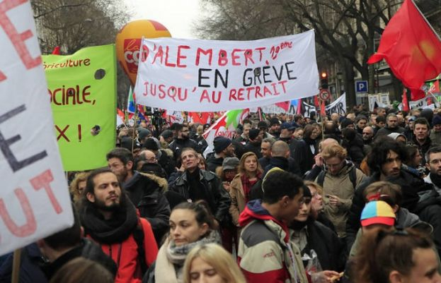 Nationwide protests in France over pension changes