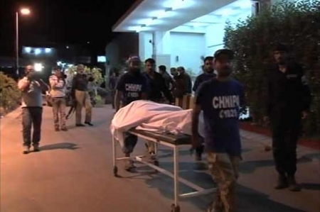 Two police officers among 9 gunned down in Karachi