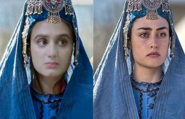 Hira Mani vs Esra Bilgic: Who looks more beautiful in Ertugrul Halime Sultan's getup