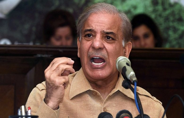 PML-N President and Leader of the Opposition in the National Assembly Shehbaz Sharif