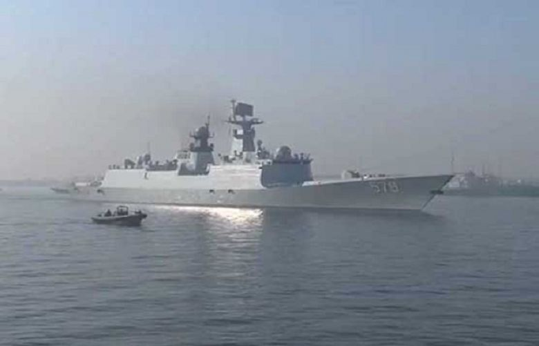 Handan will take part in the joint drills with Pakistan Navy from Nov. 15 to 21.