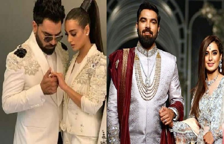 Actor Yasir Hussain proposed to Pakistani television star Iqra Aziz