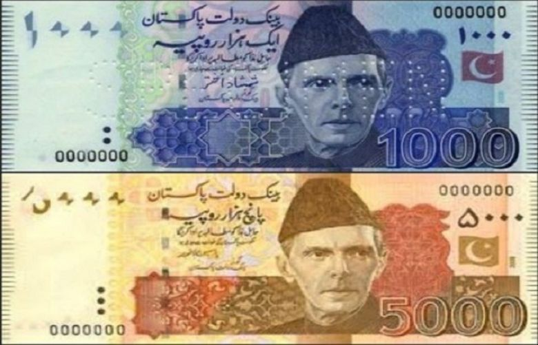 Senator proposes ban on Rs.1000 & Rs.5000 notes