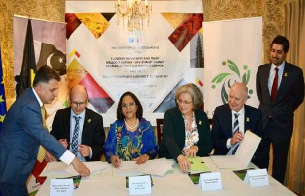 Pakistan, Belgium sign MoU to enhance trade and investment
