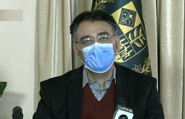 Federal Minister for Planning and Development Asad Umar