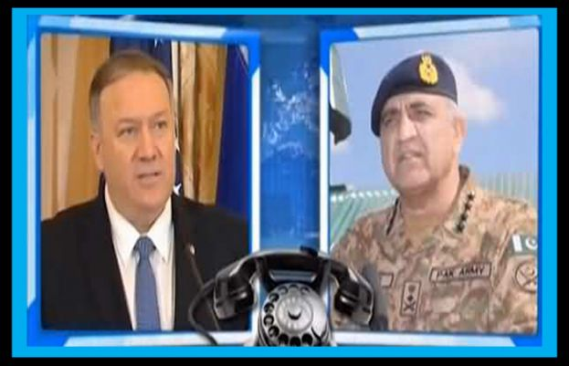 Mike Pompeo Calls Army Chief Gen Bajwa