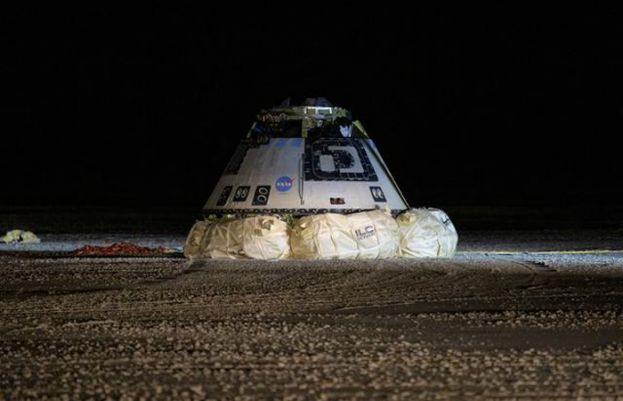 'Bull's-eye' landing in New Mexico for Boeing's Starliner astronaut capsule