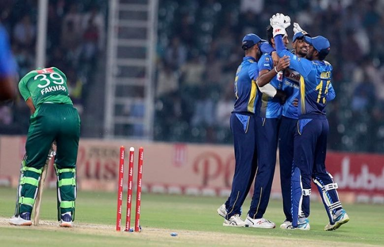 Second T20I between Pakistan and Srilanka