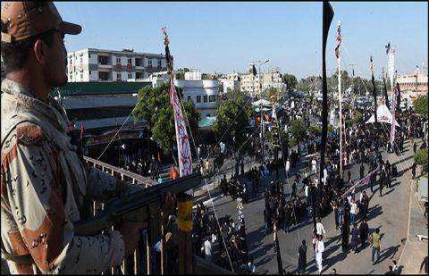 Stern security arrangements in place for 8th Muharram processions